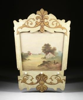 A CAROUSEL PANEL, NEW YORK, 1907-1909 MADE FOR