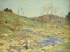 Chauncey Foster Ryder (american 1868-1949) A Painting,