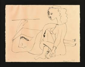 PABLO PICASSO (Spanish/French 1881-1973) A LITHOGRAPHIC