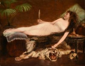 M. PERRIER (French 19th/20th Century) A PAINTING,