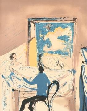 after SALVADOR DALI (Spanish 1904-1989) A