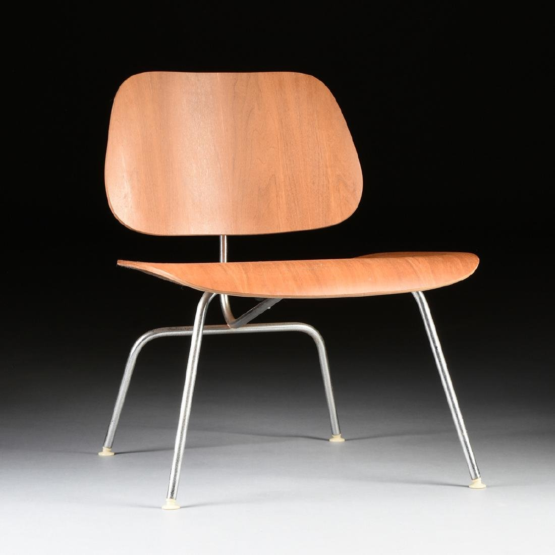 "A CHARLES AND RAY EAMES ""LCM"" MOLDED PALISANDER"