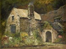 PERCY RENDELL (British 1872-1955) A PAINTING,