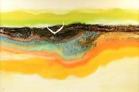 "LAMAR BRIGGS (American 1935-2015) A PAINTING, ""In"