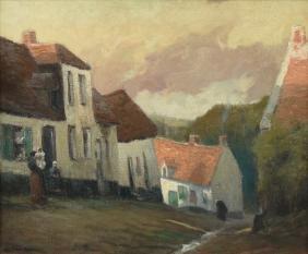 GEORGE ELMER BROWNE (American 1871-1946) A PAINTING,
