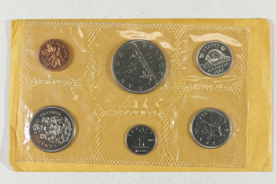 1968 CANADA (PF LIKE) SET WITH ENVELOPE