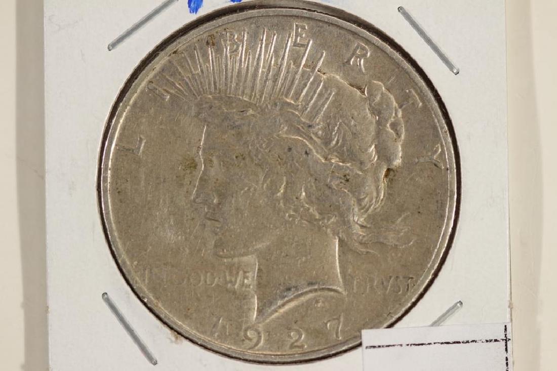 1927-D PEACE SILVER DOLLAR