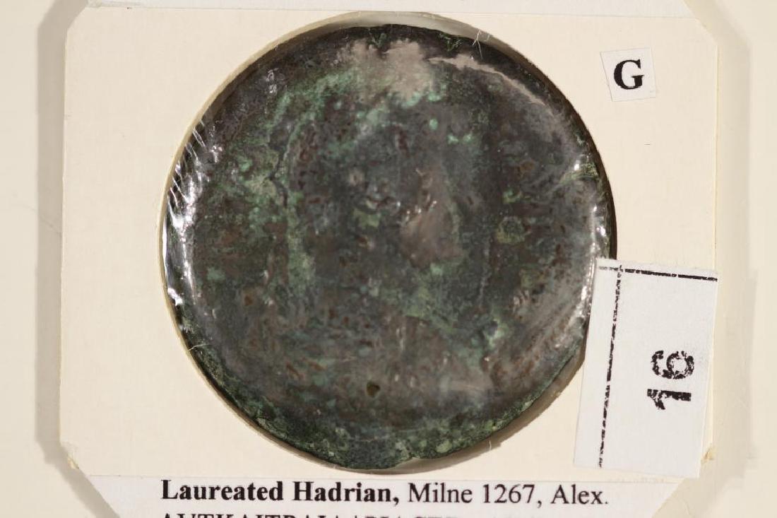117-138 A.D. HADRIAN ANCIENT COIN