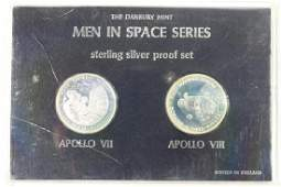 MEN IN SPACE SERIES STERLING SILVER PF SET