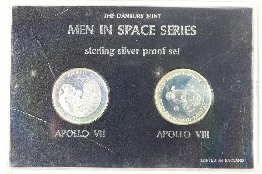 MEN IN SPACE SERIES STERLING SILVER PF SET