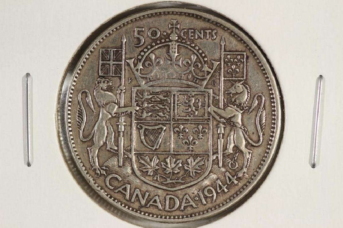 1944 CANADA SILVER 50 CENT