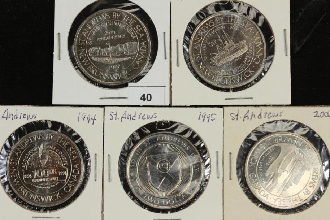 1987,93,94,95 & 2000 SAINT ANDREW CANADA TRADE