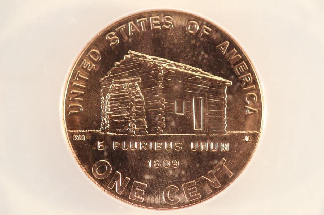 2009-D LINCOLN CENT ANACS MS67RD INAUGURAL