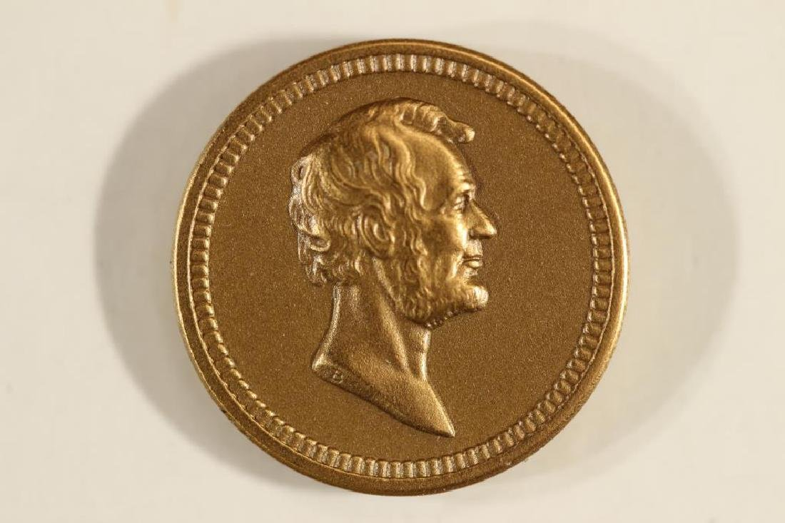 WASHINGTON / LINCOLN  US MINT ISSUED MEDALETT