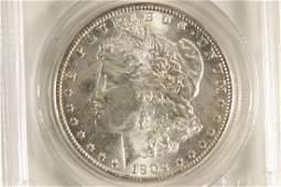 1902O MORGAN SILVER DOLLAR PCGS MS63