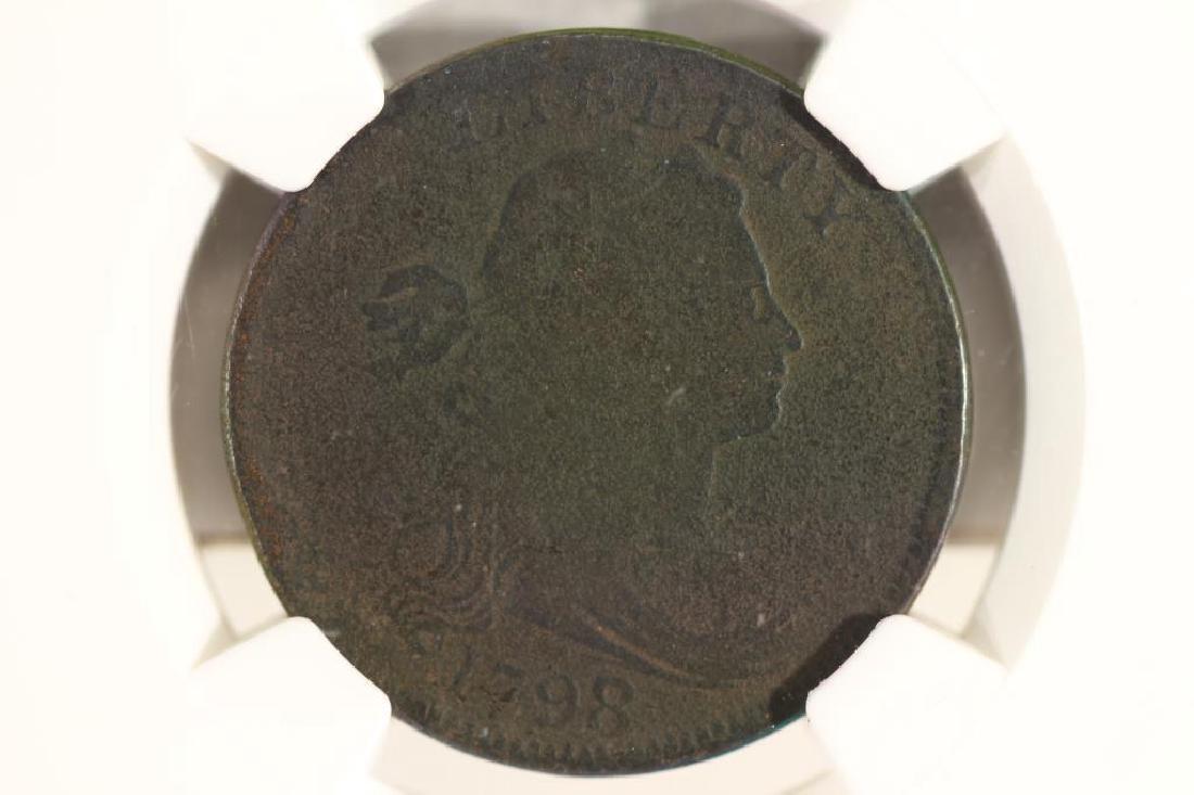 1798/7 US LARGE CENT NGC GOOD DETAILS S-152
