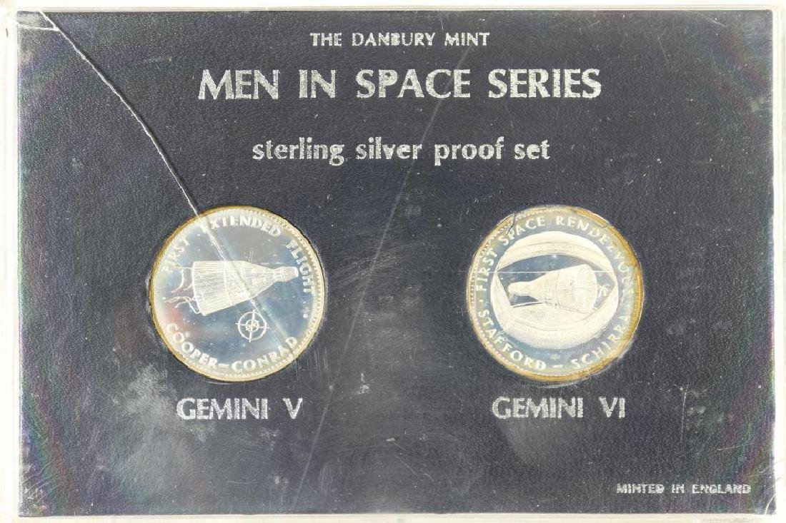 STERLING SILVER PROOF SET BY THE DANBURY MINT