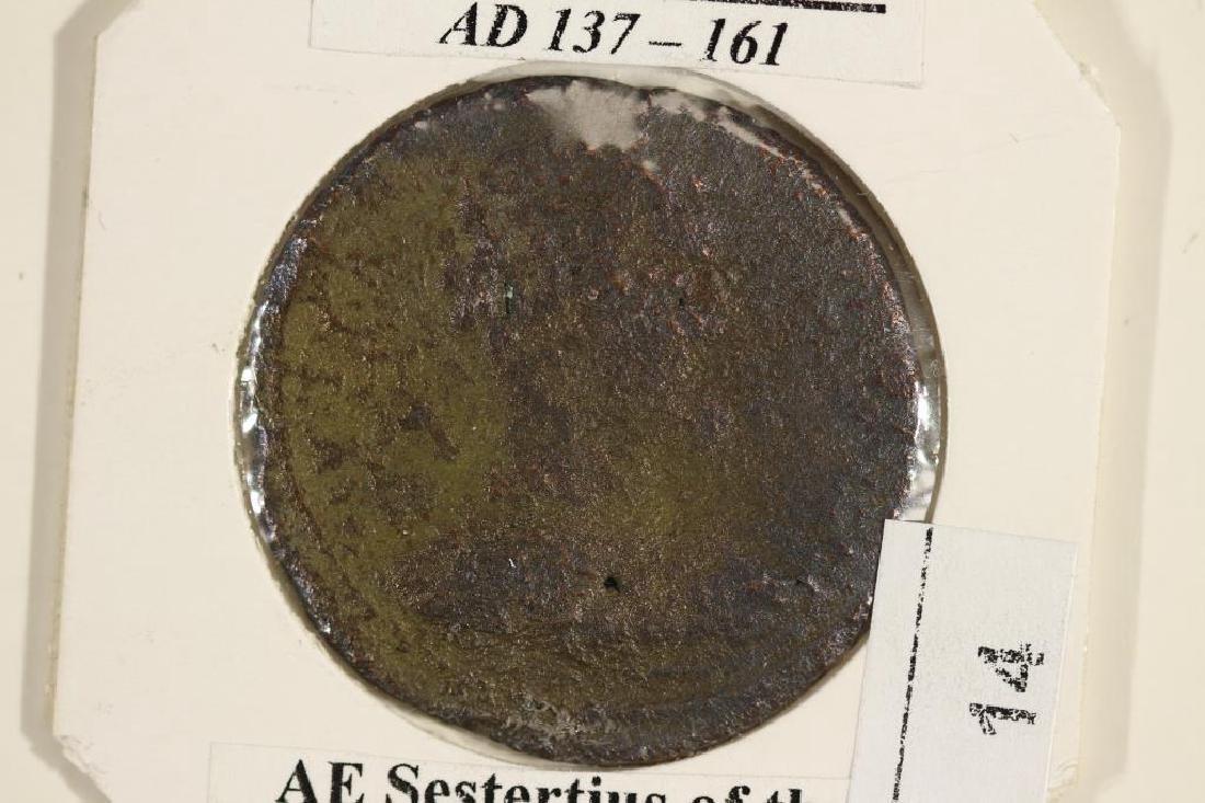 137-161 A.D. ANTONINUS PIUS ANCIENT COIN