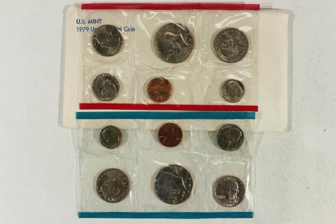 1979 US MINT SET (UNC) P/D (WITH ENVELOPE)