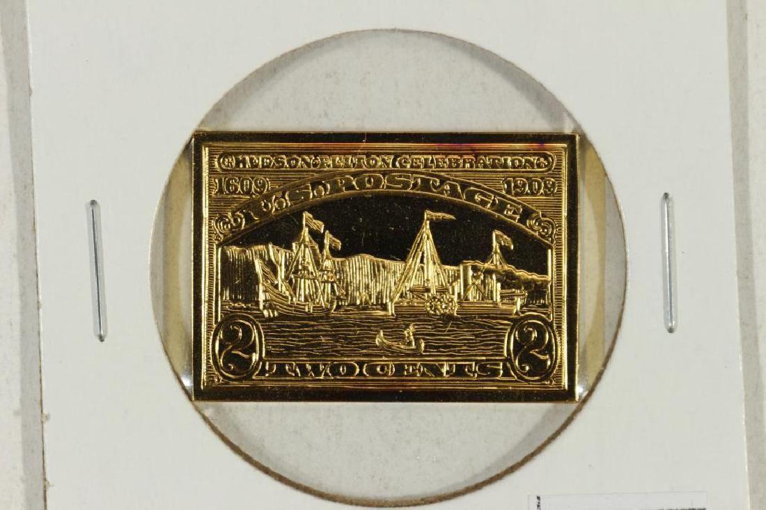13.9 GRAM 24KT GOLD PLATED STERLING SILVER INGOT