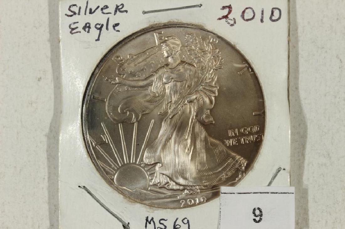 2010 AMERICAN SILVER EAGLE UNC