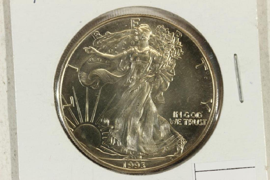 1993 AMERICAN SILVER EAGLE UNC