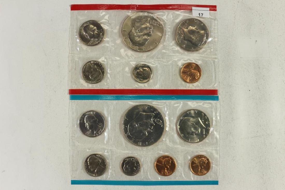 1974 US MINT SET (UNC) P/D/S (WITH NO ENVELOPE)