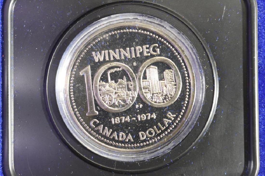 1974 CANADA WINNIPEG DOLLAR (PF LIKE)