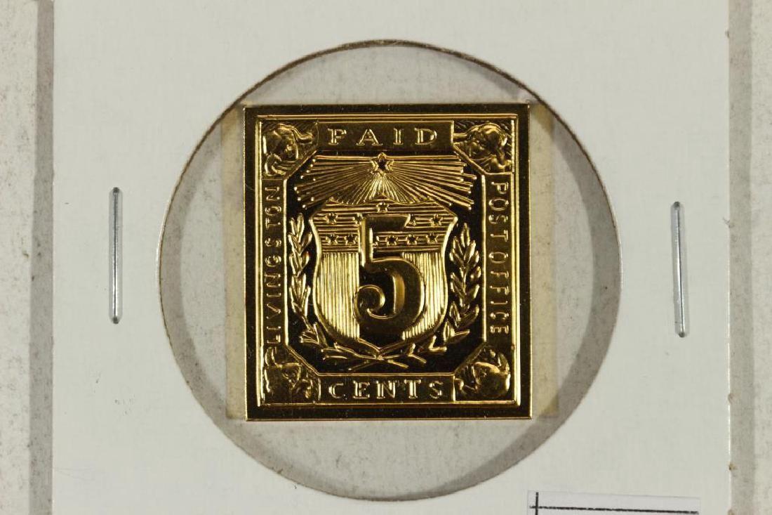 13.1 GRAM 24KT GOLD PLATED STERLING SILVER INGOT