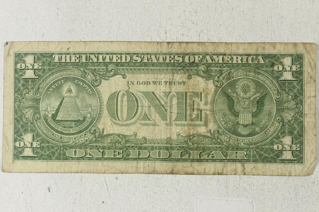 1957 $1 SILVER CERTIFICATE STAR NOTE - 2