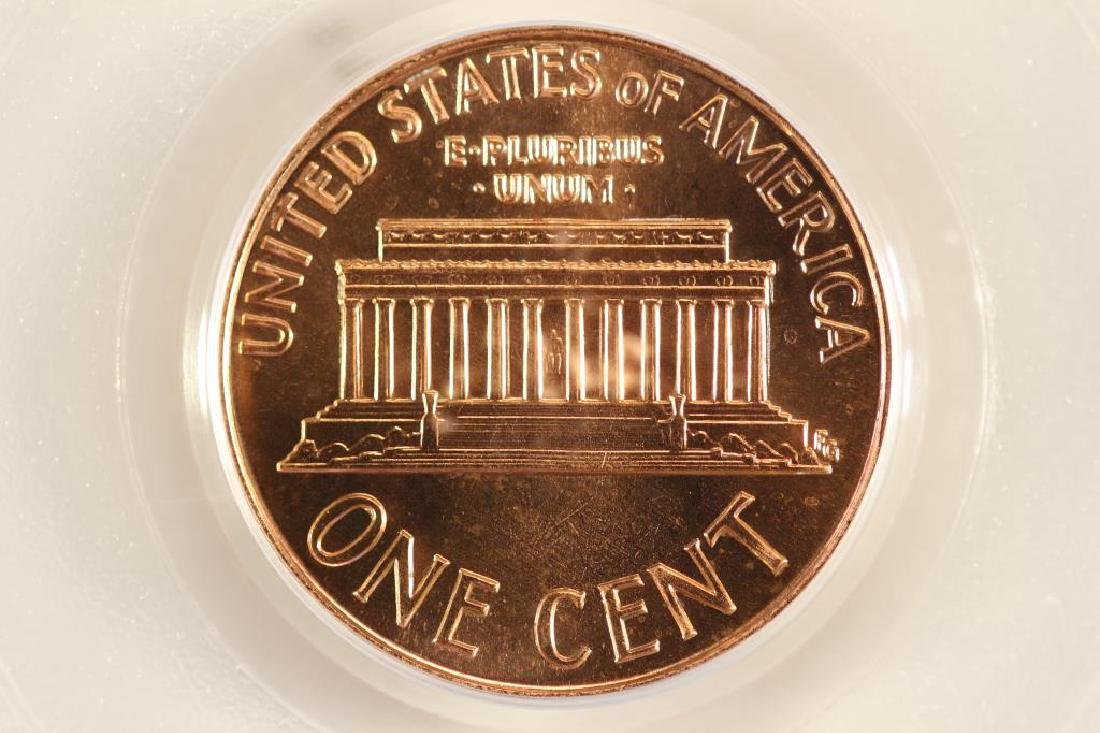 1989-D LINCOLN CENT PCGS MS67RD - 2