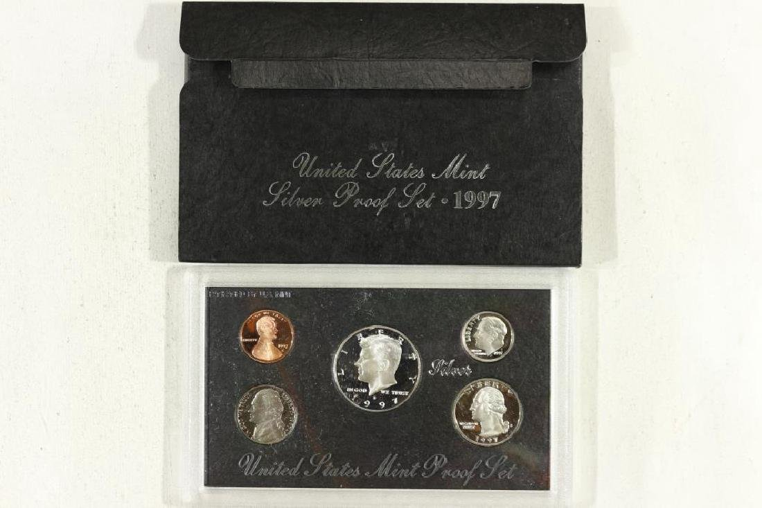 1997 US SILVER PROOF SET (WITH BOX)