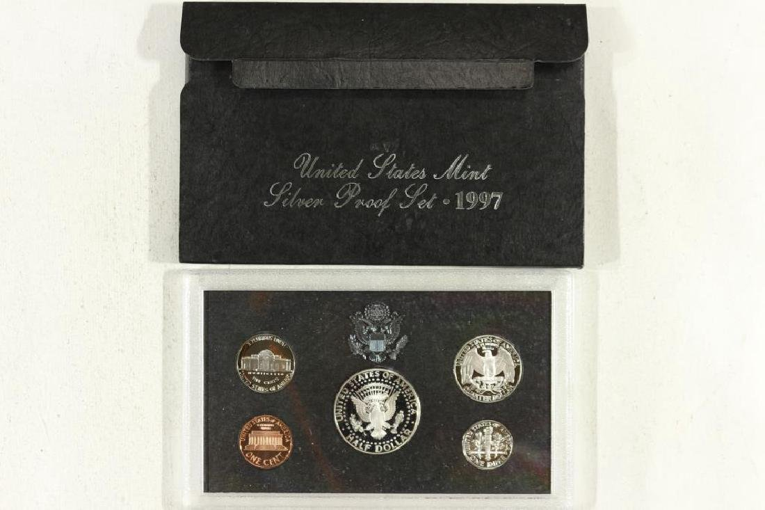 1997 US SILVER PROOF SET (WITH BOX) - 2