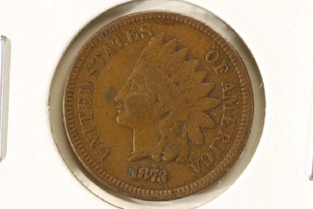 1873 INDIAN HEAD CENT (SEMI-KEY)