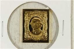 10.7 GRAM 24KT GOLD PLATED STERLING SILVER INGOT