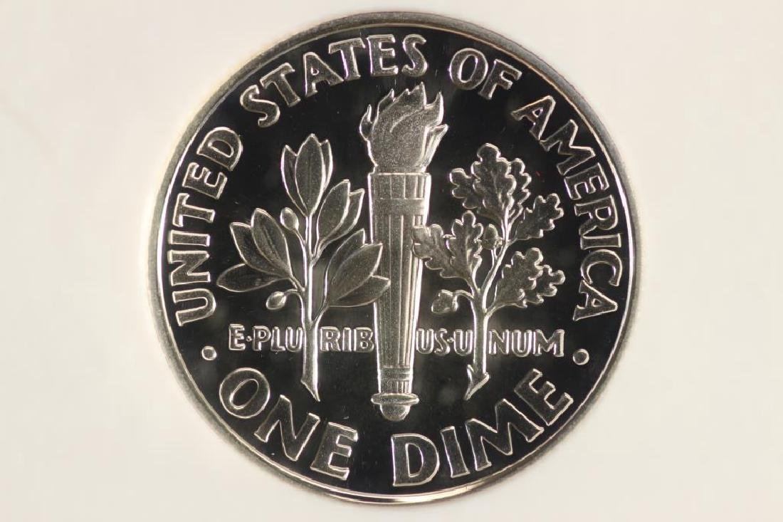 2001-S SILVER ROOSEVELT DIME NGC PF69 ULTRA CAMEO - 2