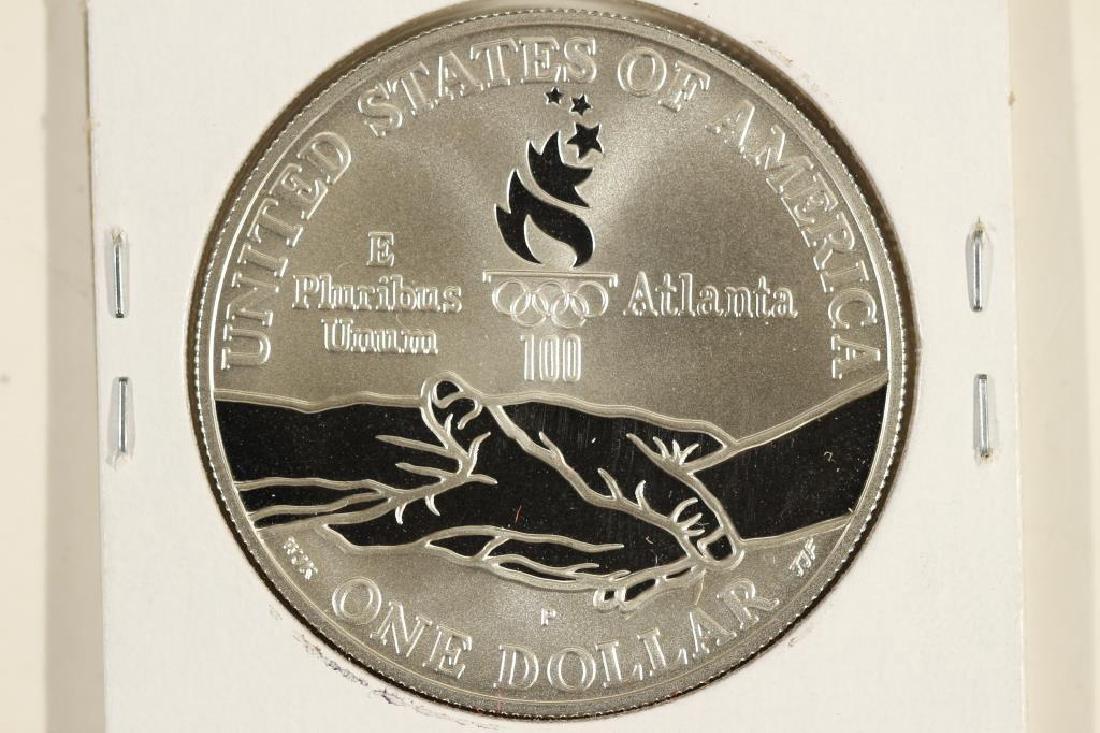 1995-P OLYMPICS GYMNAST PF SILVER DOLLAR - 2