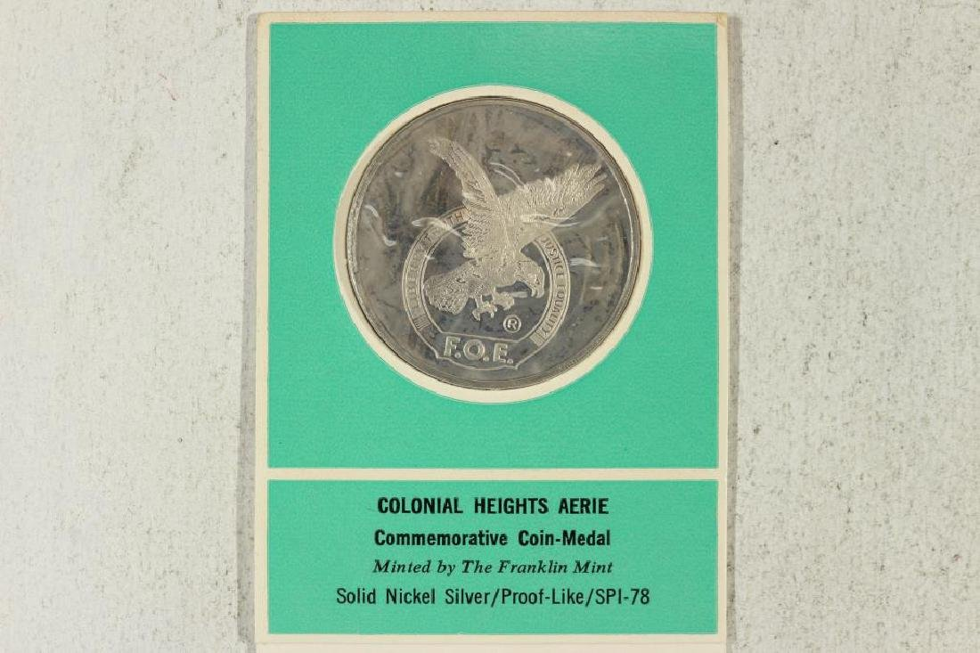 COLONIAL HEIGHTS AERIE COMMEMORATIVE COIN MEDAL