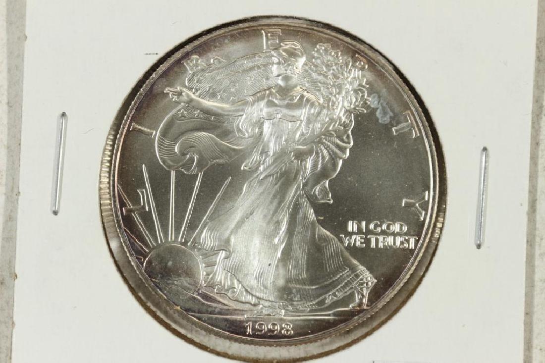 1998 AMERICAN SILVER EAGLE UNC