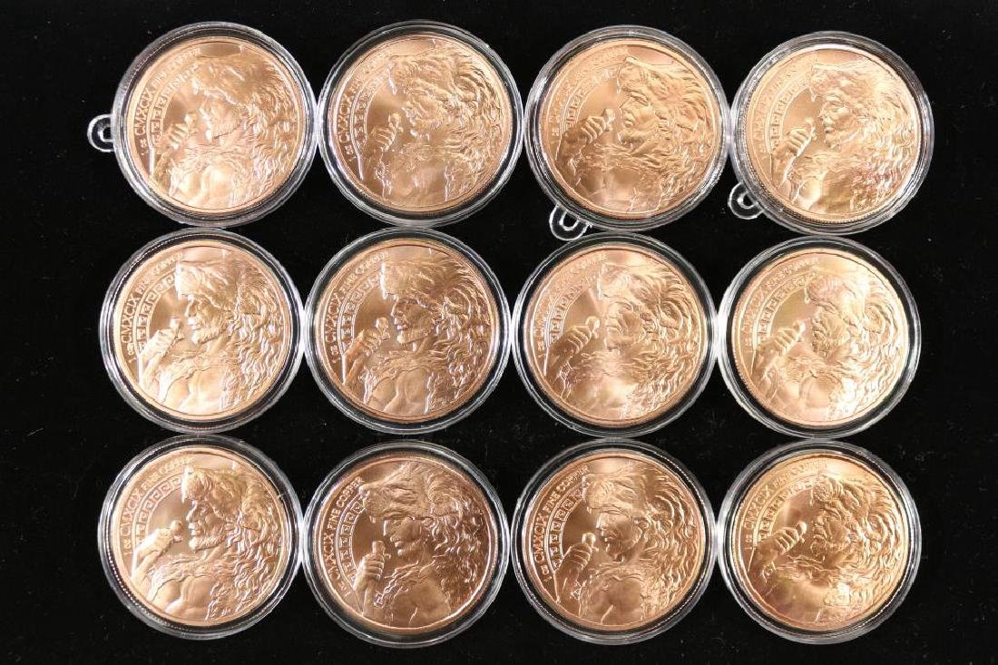 THE 12 LABORS OF HERCULES COPPER ROUNDS - 2