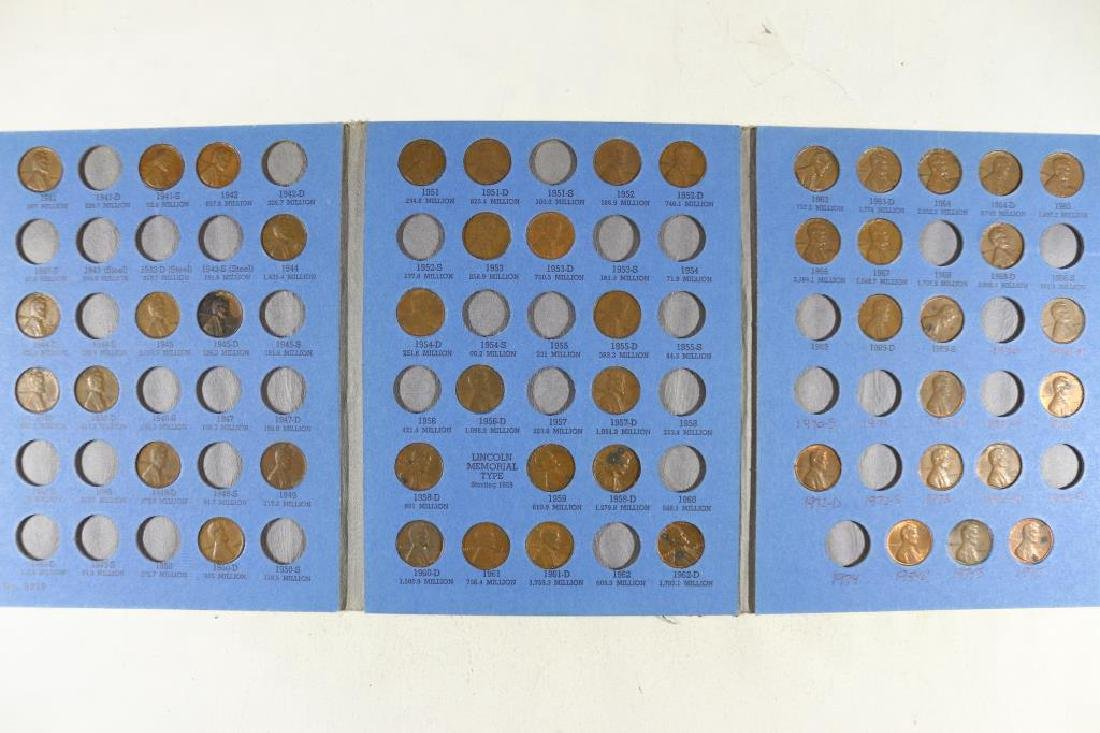 2 PARTIAL LINCOLN CENT SETS 1909-1940 45 COINS AND - 2