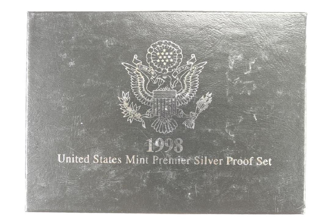 2007 US PROOF SET (WITH BOX) 14 PIECES - 3