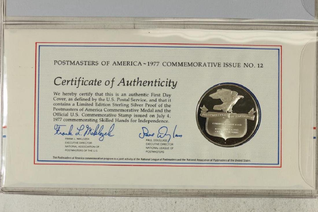 25 GRAM STERLING SILVER PROOF ROUND FDC - 3
