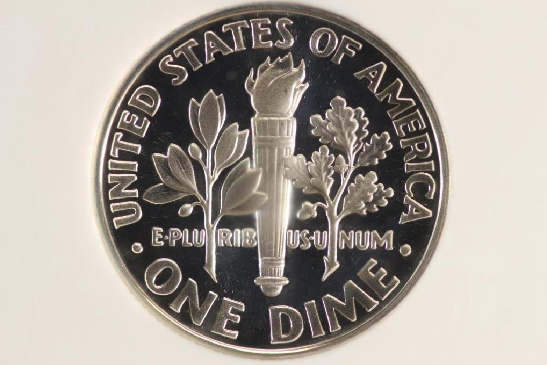 2000-S SILVER ROOSEVELT DIME NGC PF69 ULTRA CAMEO - 2