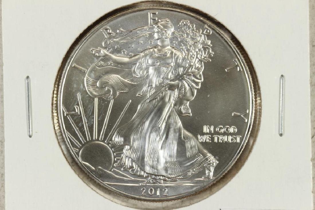 2012 AMERICAN SILVER EAGLE UNC