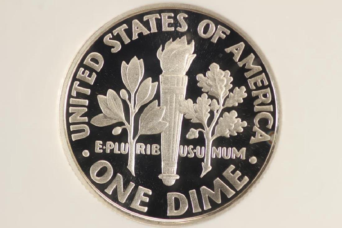 2007-S SILVER ROOSEVELT DIME NGC PF70 ULTRA CAMEO - 2