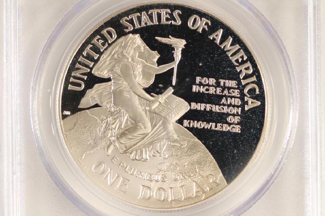 1996-P SMITHSONIAN COMMEMORATIVE SILVER DOLLAR