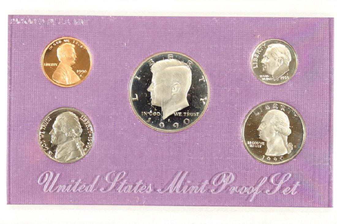 1990 US PROOF SET (WITH NO BOX)