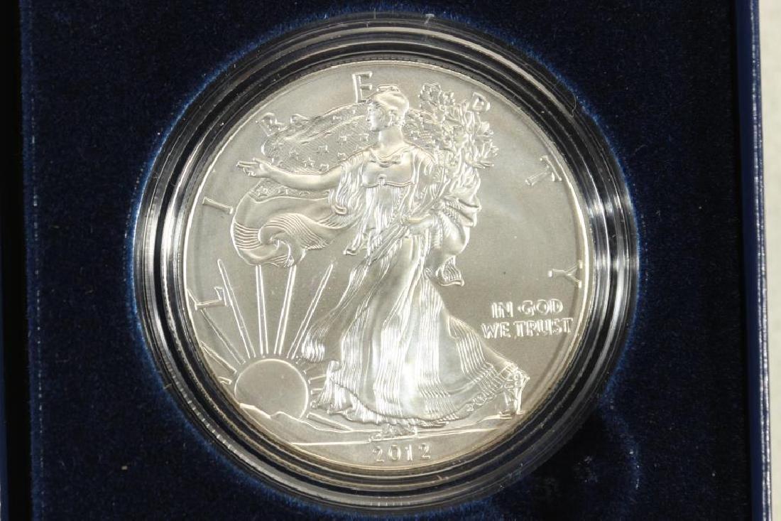 2012-W AMERICAN SILVER EAGLE UNC ORIGINAL MINT