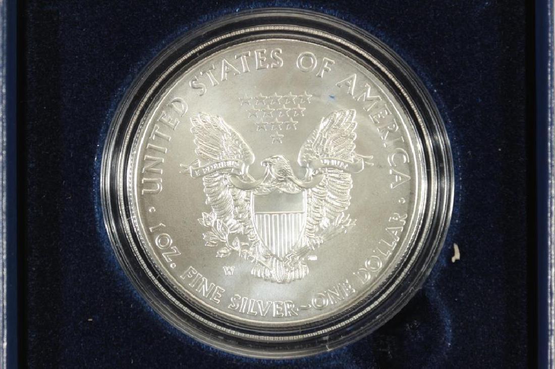 2012-W AMERICAN SILVER EAGLE UNC ORIGINAL MINT - 2